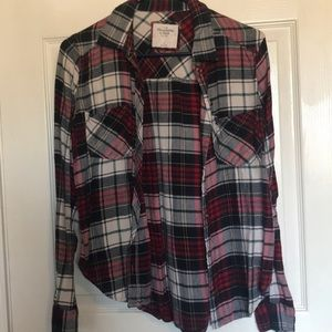 Ambercrombie and Fitch flannel
